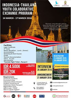 INDONESIA-THAILAND YOUTH COLABORATIVE EXCHANGE PROGRAM BATCH II