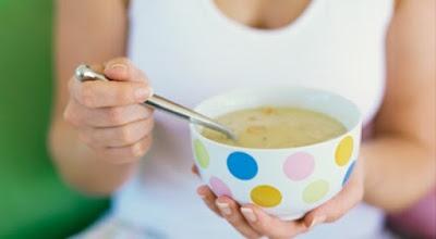Ingredientes da Receita da Dieta da sopa