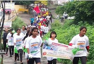 शहर में रैली निकाल कर मतदाता जागरूकता के लिए आमजन को बीईओ झाबुआ एवं स्वीप नोडल अधिकारी ने दिलाया मतदान करने का संकल्प