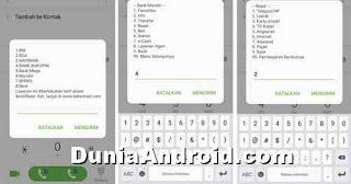 menu SMS banking MANDIRI