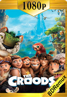 Los Croods (2013) [1080p BD REMUX] [Latino-Inglés] [LaPipiotaHD]