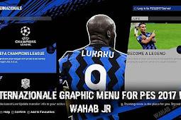 Inter Milan Graphic Menu 2021 - PES 2017