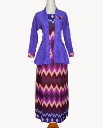 baju batik setelan rok panjang