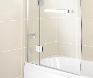 bathtub shower splash guard