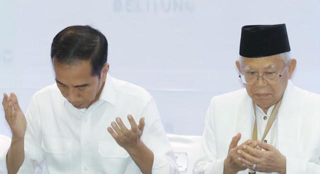 Amini Ucapan Jokowi Soal UU Ciptaker, Ma'ruf: Demi Menambah Lapangan Kerja