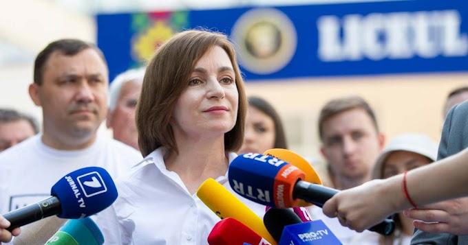 Az EU-barát elnök pártja nyerte az előre hozott választást Moldovában
