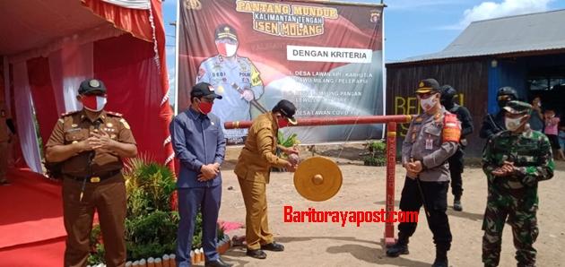 Desa Belanti Siam Juara III Lomba Desa Pantang Mundur