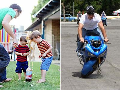 Caída en moto