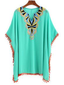 www.shein.com/Embroidery-Pom-Pom-Trimmed-Poncho-Dress-p-277455-cat-1727.html?aff_id=2687