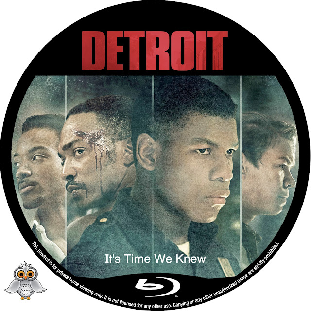 Detroit Bluray Label