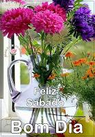 Imagens e Frases de Feliz Sábado para seus Amigos, Feliz Sábado Linda Mensagem.