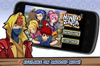 Ninja Saga Mod Apk v0.9.71 Mod Damage Terbaru