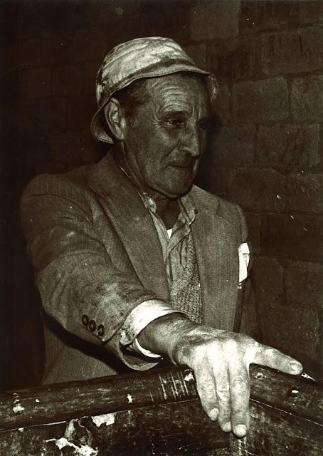 Gerardo Gavilanes (muiñeiro no muiño do Piepito)