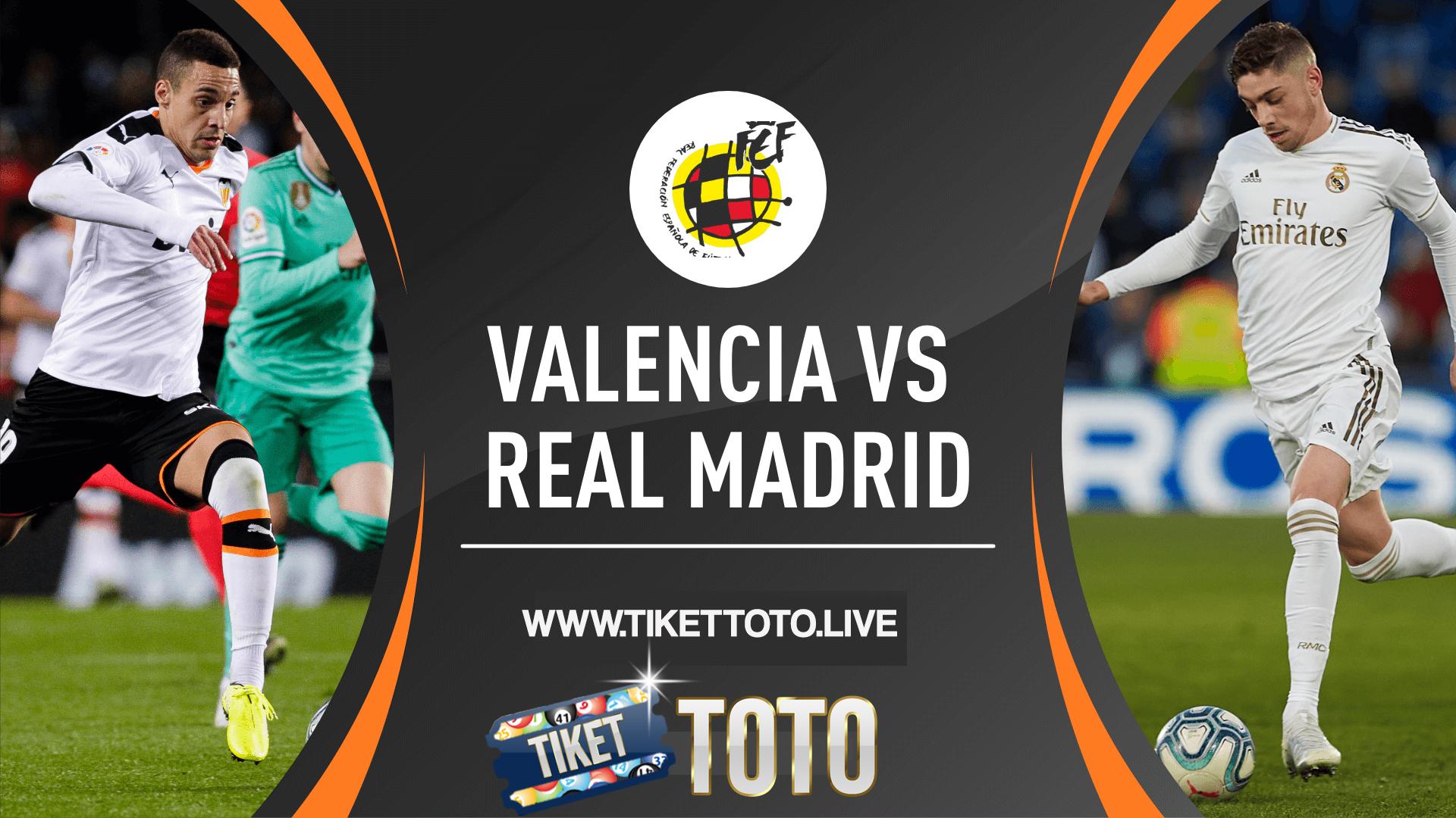 Dua Gol Real Madrid Bungkam Valencia