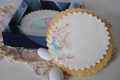biscotti dipinti bomboniera nascita / baby shower