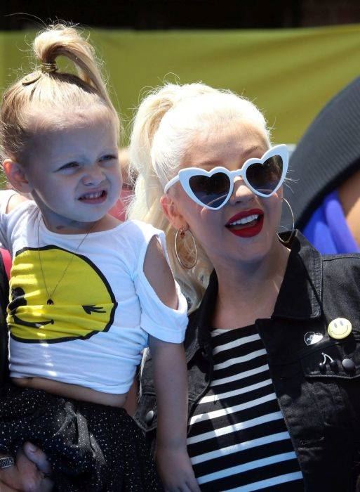 Christina Aguilera: daughter Summer Rain