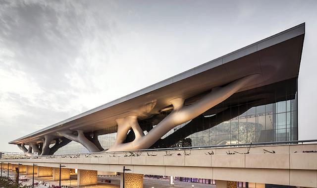 Grognards l architettura organica del qatar national for Blog architettura