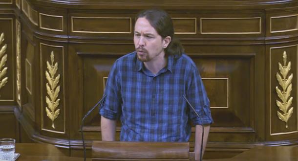 """Amenazan a Pablo Iglesias: """"O se integra en el sistema o el CNI sacará sus vergüenzas"""""""