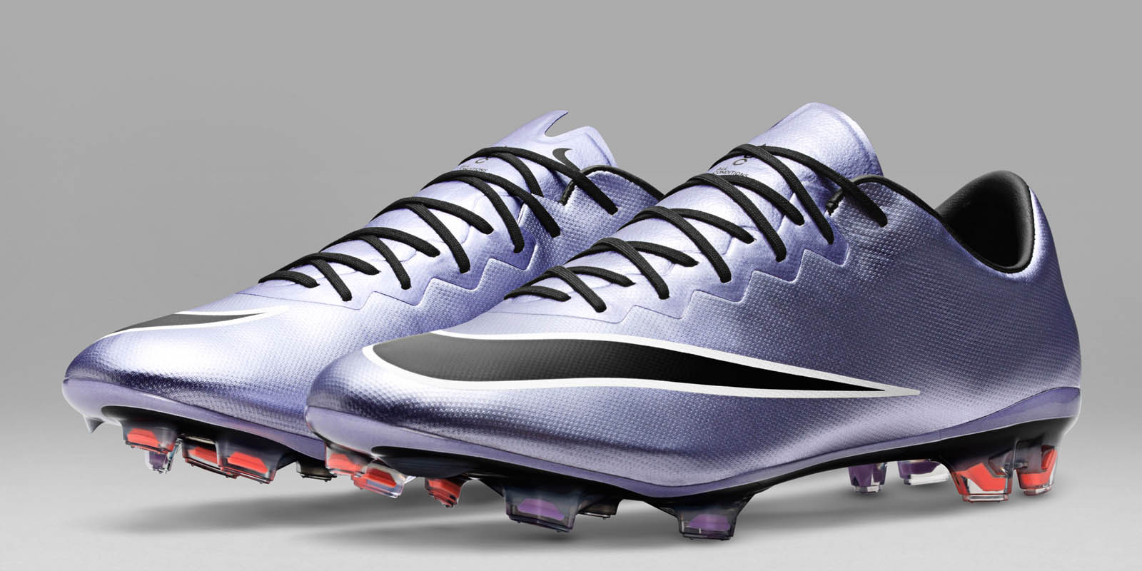 Urban Lilac, Black and Bright Mango. The new silver Nike Mercurial Vapor 10  Soccer Cleats introduce a stunning design for the Nike Mercurial, ...