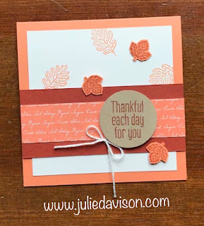 VIDEO Tutorial: 3 Stampin' Up! To Every Season Spiral Pop Up Cards ~ 2019 Holiday Catalog ~ www.juliedavison.com