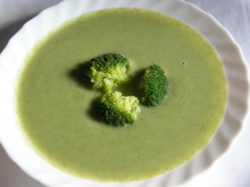 Deliciosa sopa de brócolos