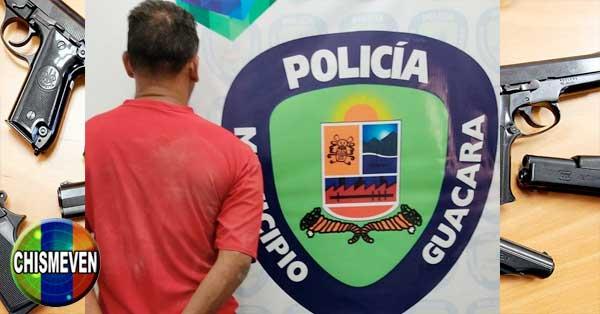 Detenido en Guacara por secuestrar a su propia mujer y a su hijo pequeño