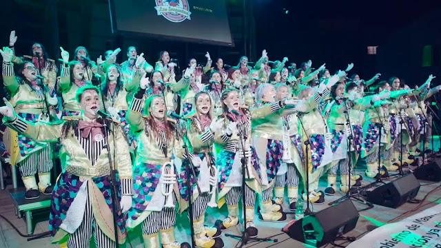 noche%2Bmurgas.%2B15%2Baniv%2Bsargorias%2B%25282%2529 - Fuerteventura.- Las Sargoriás abrieron el Carnaval de Carnavales de La Oliva celebrando con el público de casa su 15º Aniversario