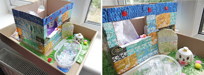 Canimals, Recycling Week, Craft with recyclable materials