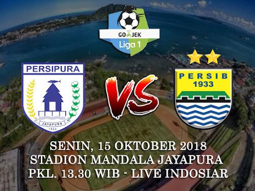 Persib VS Persipura 15 Oktober 2018