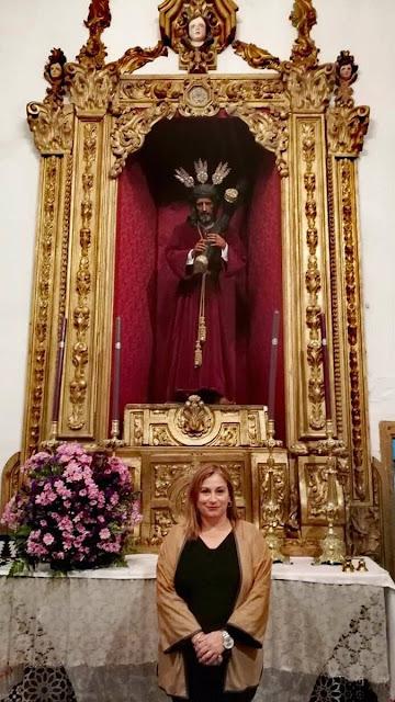 Pregonera de la Semana Santa 2019 de San Juan del Puerto (Huelva).