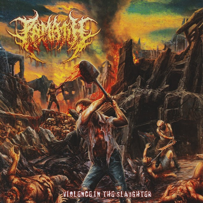 Pamatih - Violence In The Slaughter (2020)