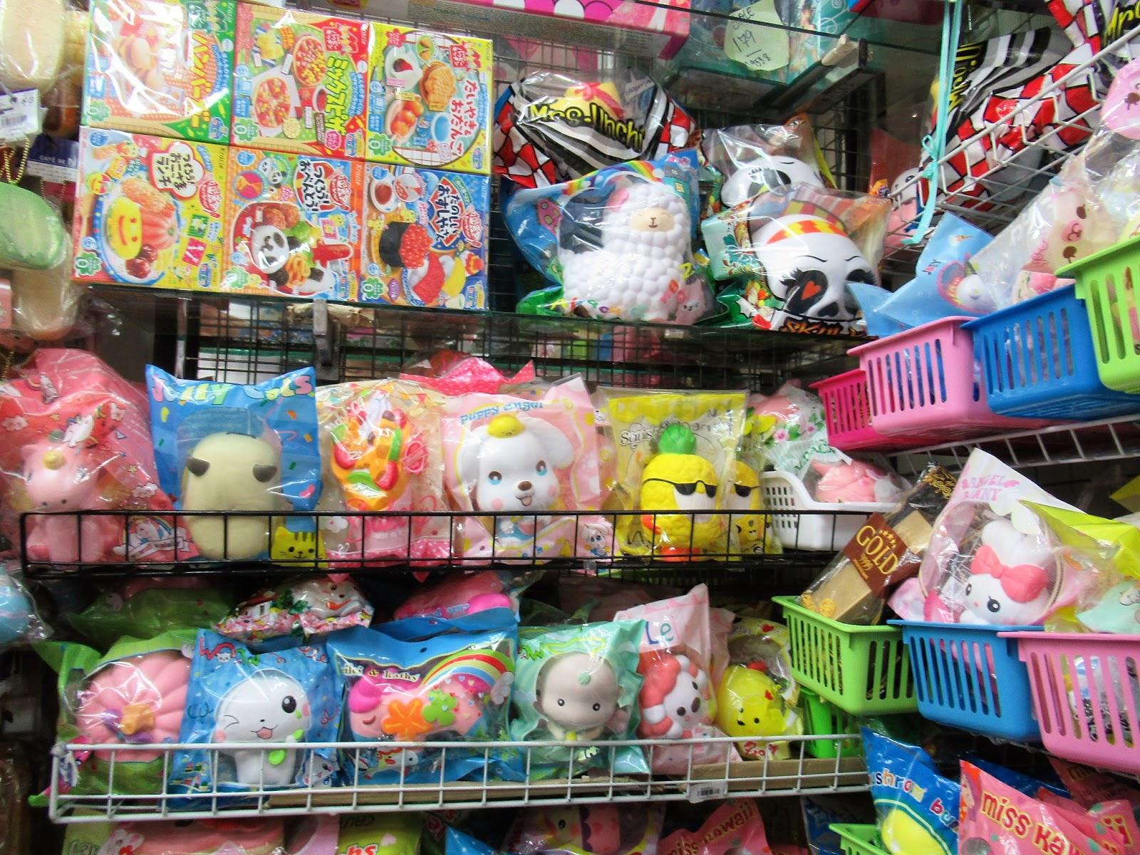 Squishy Hunting : Hunting Squishy Murah Di Chinatown Bangkok ~ ASISTEN LIBURAN