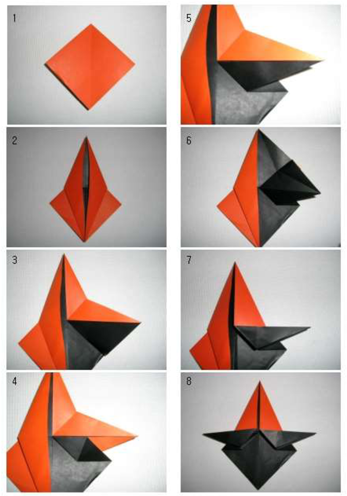 origami duck folding instructions ~ easy origami ... - photo#45