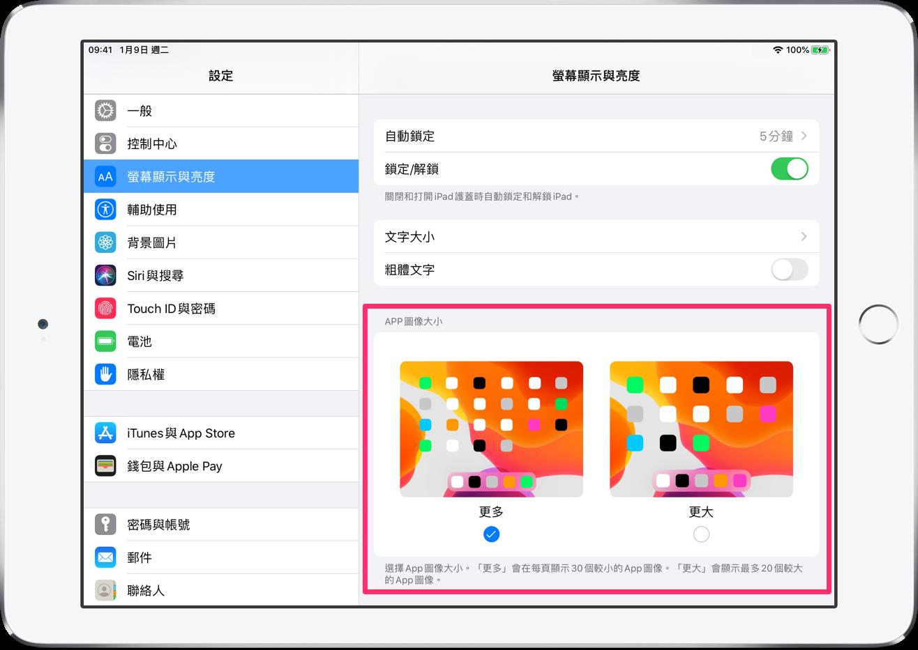 iPadOS 13 主畫面