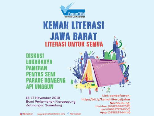 Kemah Literasi Jabar 2019