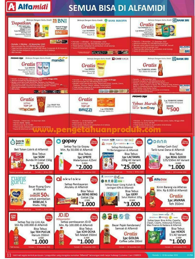 Katalog Promo Alfamidi Terbaru Periode 1 15 November 2020