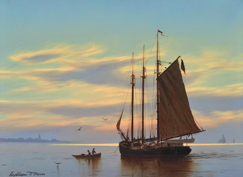 Im genes arte pinturas vistas marinas con veleros for Cuadros de marinas