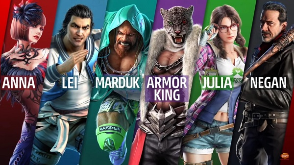 All Tekken 7 Season Pass 2 Characters