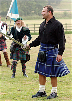 As We Were Saying....: The Romance Of Scotsmen In Kilts  As We Were Sayi...