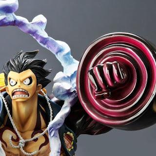 "Abierto pre-order de Luffy Gear 4 Boundman ""King Gun"" de ""One Piece"" - Bandai"