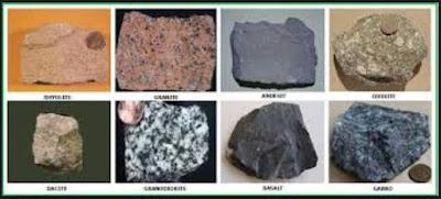 Jenis-jenis Batuan Beku dan Contohnya