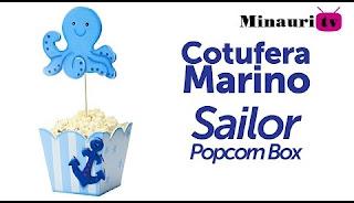 Cotufera - Popcorn-Box