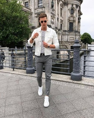 outfit casual hombre blanco