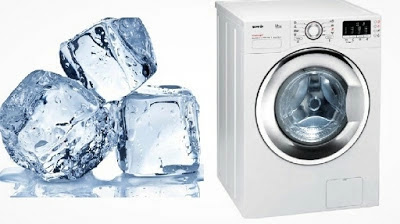 She puts ice 3D squares in the dryer, and the outcome is incredible! You should attempt this!