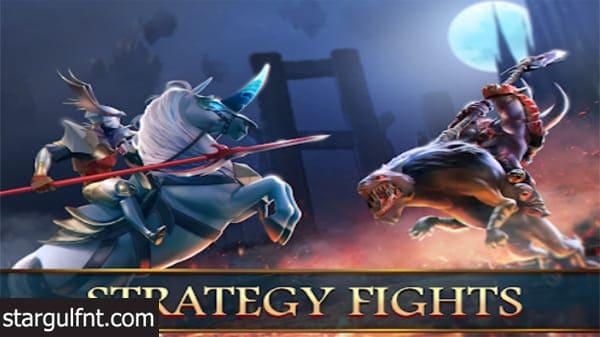 تحميل لعبة حرب العصور الوسطى Mobile Royale MMorpg للأيفون والأندرويد