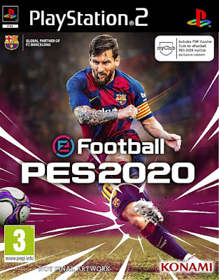 eFootball PES 2020 PS2 Season 2019/2020