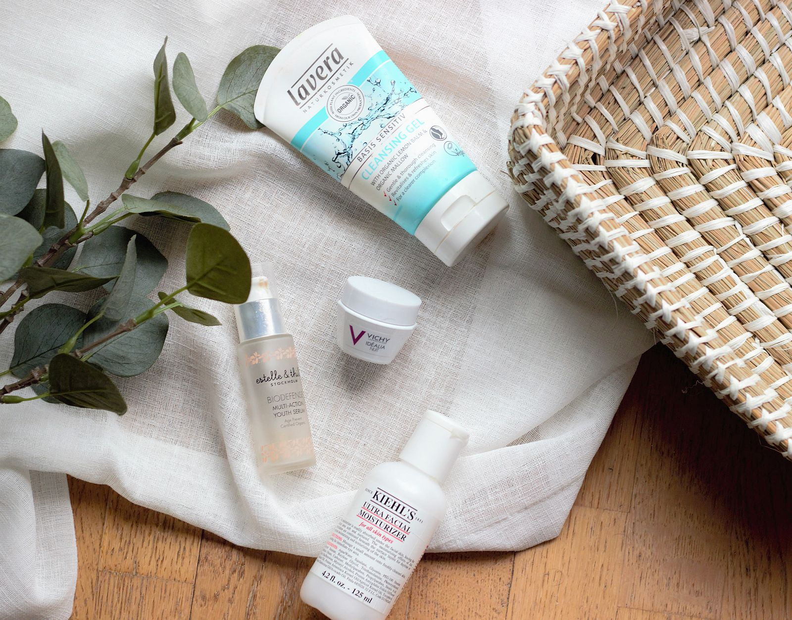 Изразходвани продукти - грижа за лице - празни опаковки