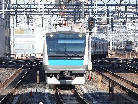 京浜東北線 田町行き(2019.11品川駅線路切換工事に伴う運行)
