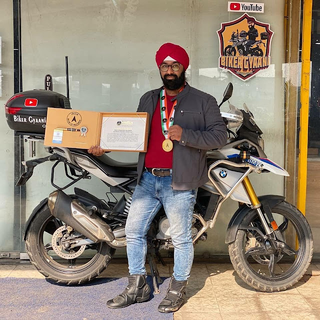 Travel All Five Takhts of Sikhism Solo On a Motorcycle By Abhijit Singh Kohli