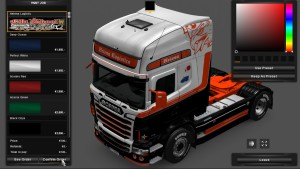 Helena Logistics Skin for Scania RJL